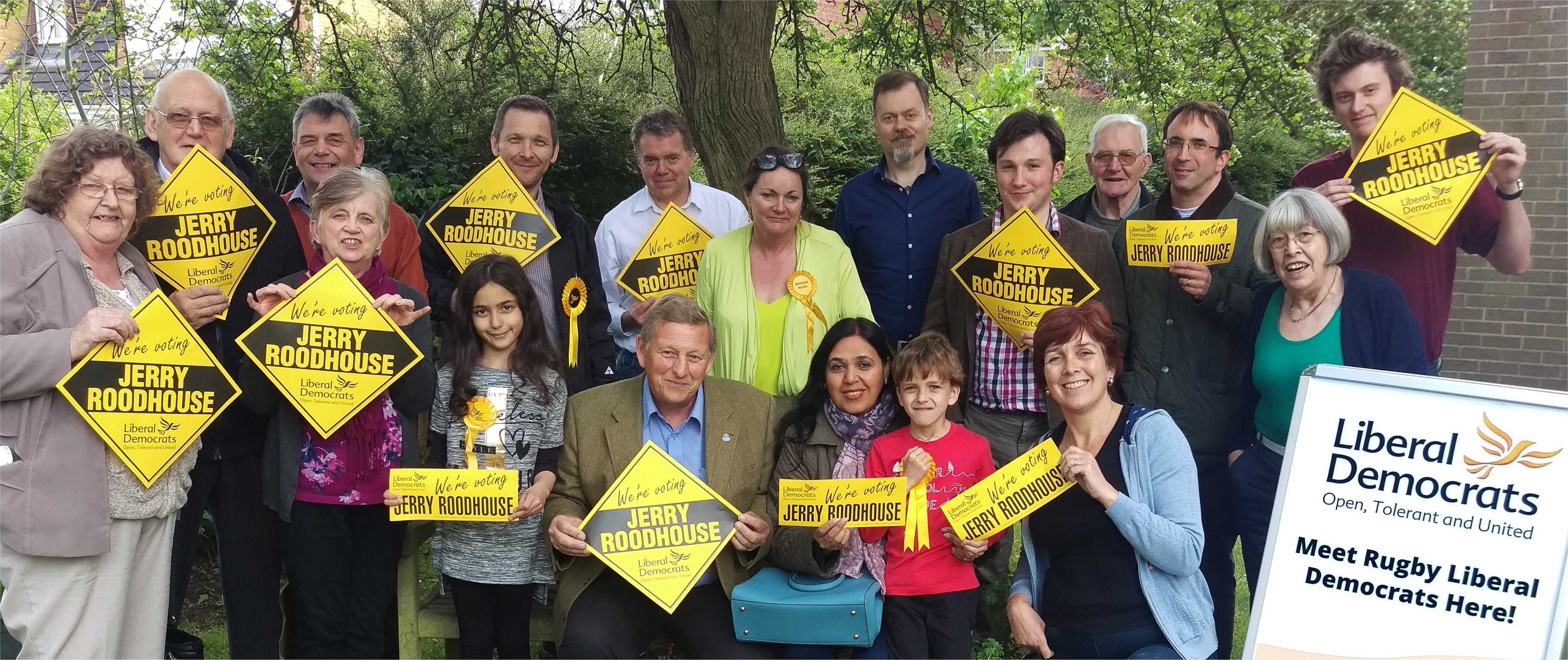 Rugby Liberal Democrats banner image