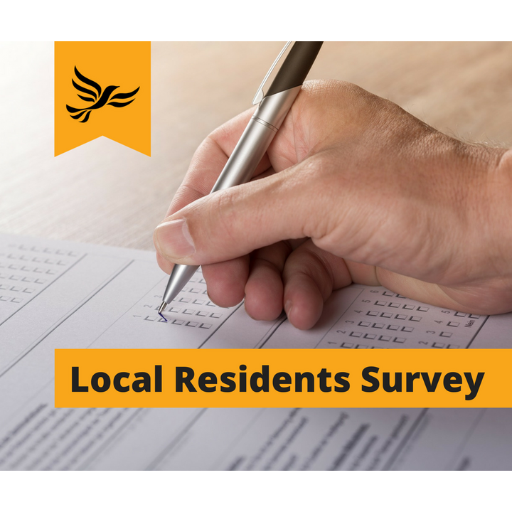 Local resident survey