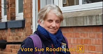 Vote Sue Roodhouse